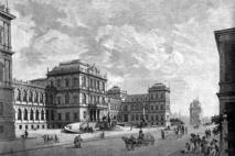 Der Neureuther-Bau © Münchner Stadtmuseum